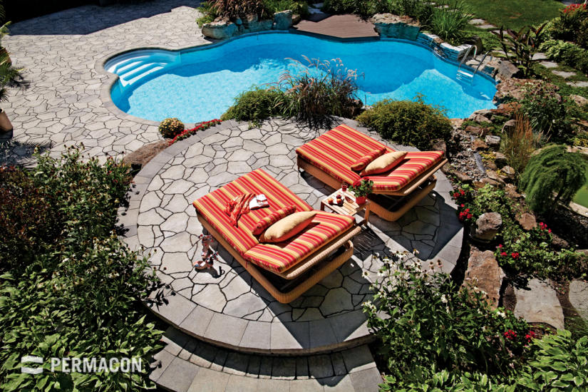 Dream poolside paved to perfection