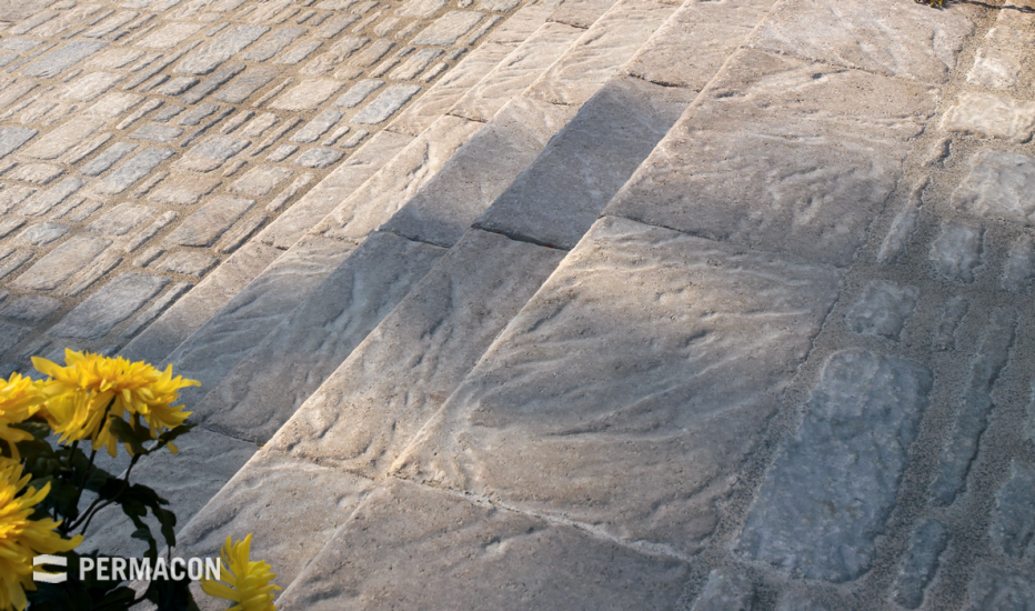 Complement your pavers with assorted steps