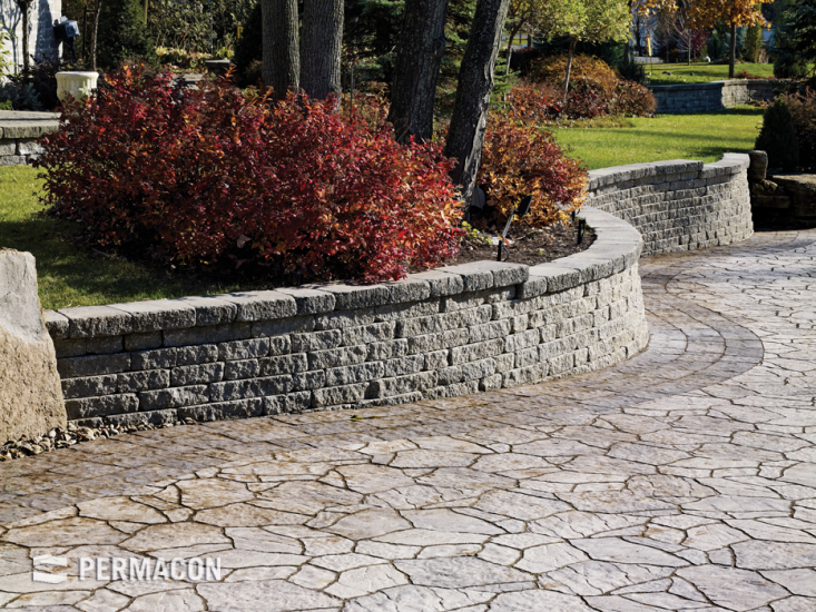 Elegant selection of wall for your outdoor layout