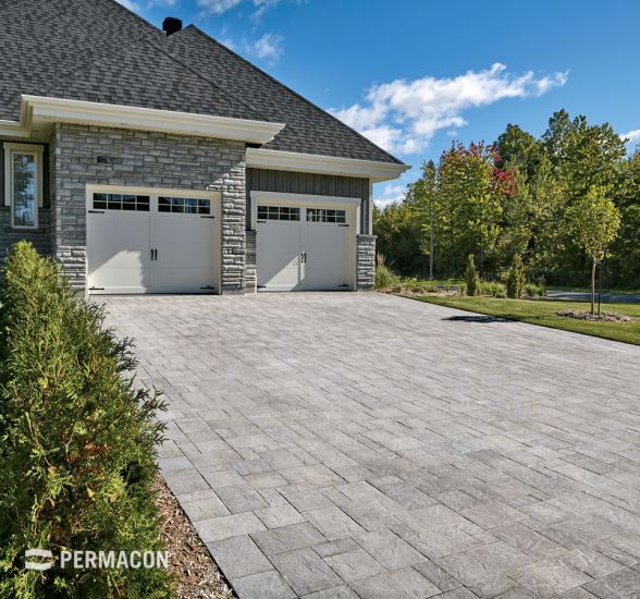Exquisite slate finished pavers