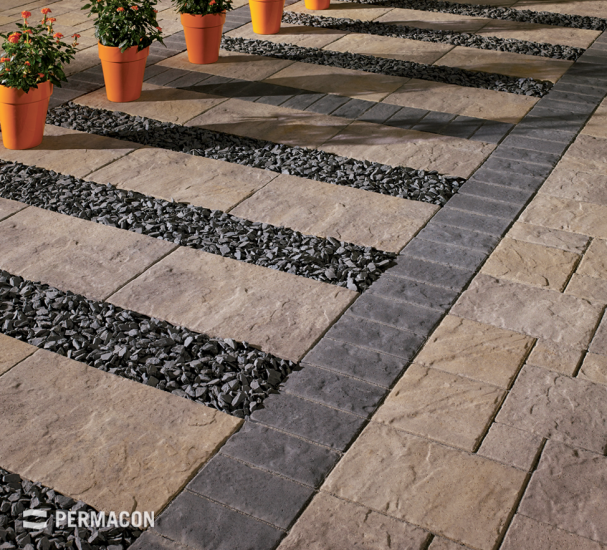 The perfect slab to use for a stepping stone path