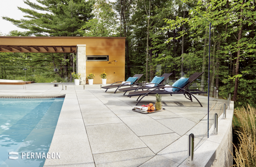 Your pool, your peaceful oasis